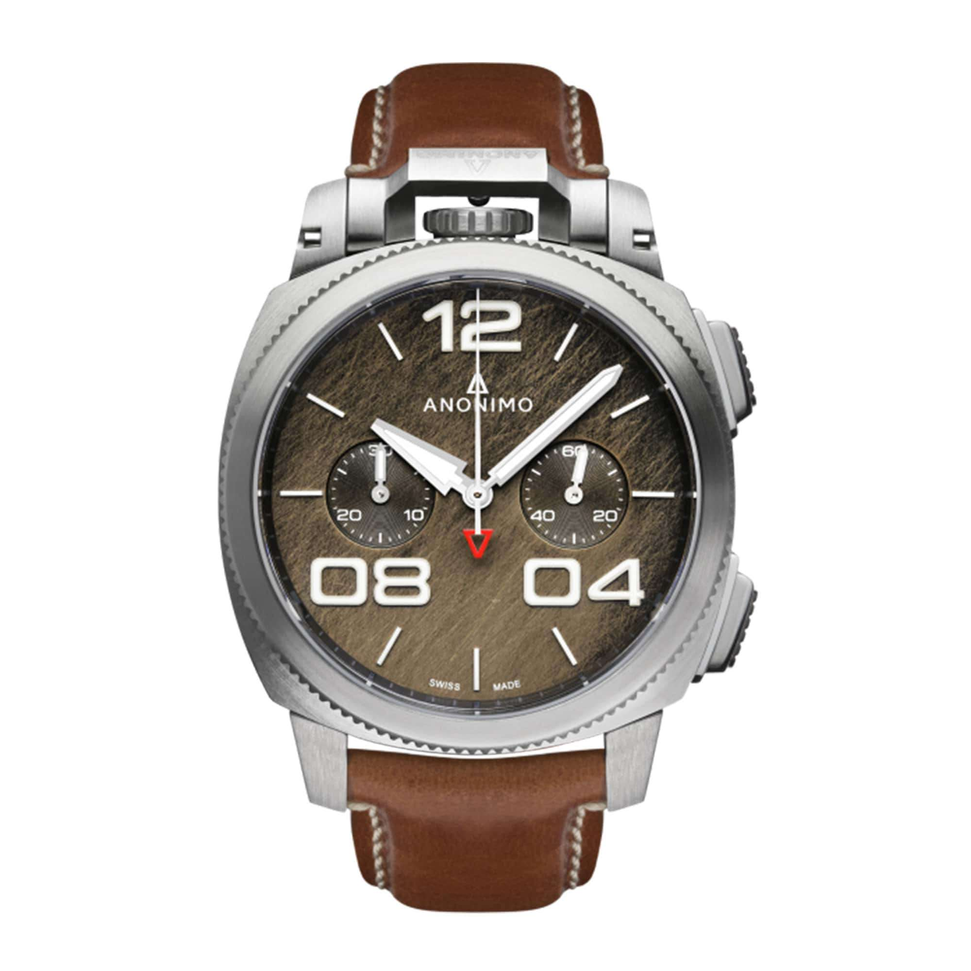 Anonimo Militare Chrono Stainless Steel AM-1120.01.002.A02 – Swiss Time